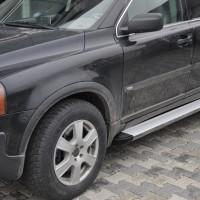 Пороги Volvo XC90 EB001 (Elegance Silver)