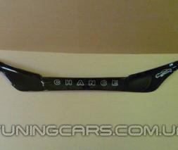 Дефлектор капота (мухобойка) ВАЗ Lada Granta (2190) с 2011, (Лада Гранта)