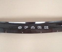 Дефлектор капота Chevrolet Spark c 2010 г.в.