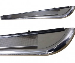 Пороги площадка для Honda HR-V (1998-2006) HDHR.98.S2-01 d60мм x 1.6