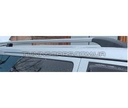 Рейлинги ABS Fiat Doblo (10+) Long