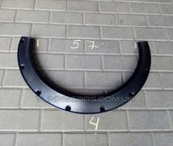 Универсальные Флендеры на легковые авто, обрезается арка под флендер (Россия)