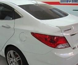 Спойлер Meliset (под покраску) Hyundai Accent Solaris 2011-2017