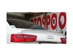 Спойлер (под покраску) Audi A6 C7 2011