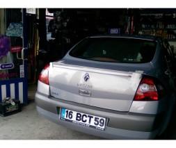 Спойлер Sedan (под покраску) Renault Megane II 2004-2009