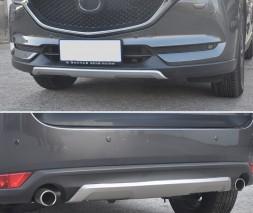 Передняя и задняя накладки V2 Mazda CX-5 2017