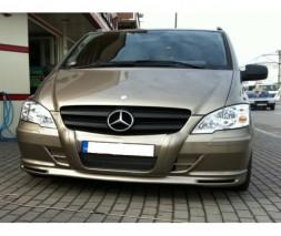 Mercedes Vito 639 Накладка на бампер губа 2004-2010
