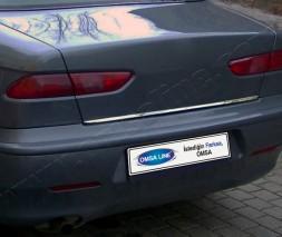 Кромка багажника (нерж.) Alfa Romeo 156 1997-2007