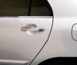 Наружняя окантовка стекол (4 шт, нерж Toyota Verso 2009