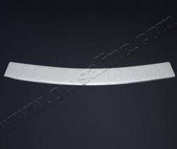 Накладка на задний бампер OmsaLine (нерж) Chevrolet Trax 2012