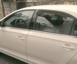 Наружняя окантовка стекол (нерж) Seat Toledo 2012