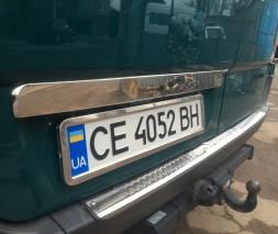 VW CRAFTER Накладка над номером OmsaLine