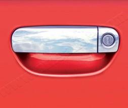 AUDI A3 Накладки на дверные ручки 4 двери водительская цельная