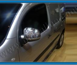 Mercedes Citan Накладки на зеркала из хромированного пластика