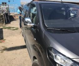 Opel Vivaro 2019+ Накладки на зеркала (2 шт., пласт.) OmsaLine