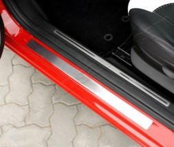 Накладки на пороги OmsLine (нерж) Alfa Romeo 147 2000-2010