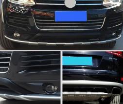 Передняя и задняя накладки V1 (2010-2015) Volkswagen Touareg 2010-2018