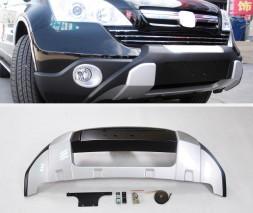 Передняя накладка V2 (2007-2010) Honda CRV 2007-2011