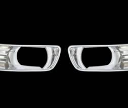 Накладки на противотуманки (2 шт, пласт) Toyota Camry 2007-2011