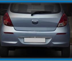 Накладка над номером (нерж.) Hyundai I-20 2012-2014