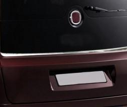 Кромка заднего стекла (нерж) Opel Combo 2012-2018