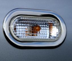 Обводка поворотника (2 шт, нерж) Seat Leon 1999-2005