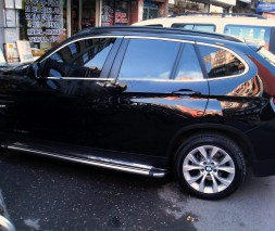 Полная окантовка стекол (нерж.) 12 шт. BMW X1 E-84 2009-2015