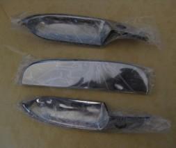 Chevrolet Lanos Стальные накладки на ручки