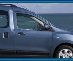 Renault Dokker Модинг стекол Carmos