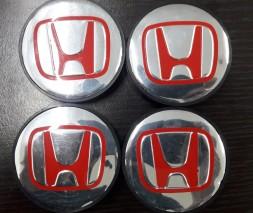 Honda Jazz III 2009-2013 гг. Колпачки в титановые диски 55 мм V1 (4 шт)