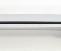 Mitsubishi Grandis 2005↗ гг. Перемычки на интегрированные рейлинги (2 шт) Серый цвет