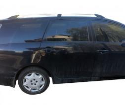 Mitsubishi Grandis 2005↗ гг. Рейлинги Хром (2 шт, алюм)