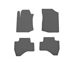 Toyota Aygo 2007-2014 гг. Резиновые коврики (4 шт, Stingray Premium)