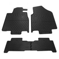 Коврики Stingray черные (4 шт, резина) для Acura MDX 2007-2013