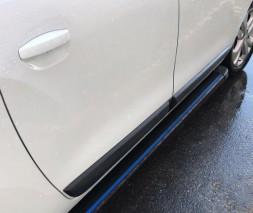 Acura MDX 2013↗ гг. Боковые пороги Maya Blue (2 шт., алюминий)