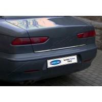 Кромка багажника (нерж.) для Alfa Romeo 156 1997-2007