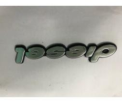 Audi 100 C4 1990-1994 гг. Надпись Diesel (самоклейка) 13,5 см