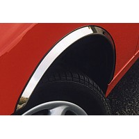 Накладки на арки (4 шт, нерж) для Audi A4 B7 2004-2008