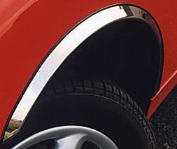 Audi A4 B7 2004-2008 гг. Накладки на арки (4 шт, нерж)