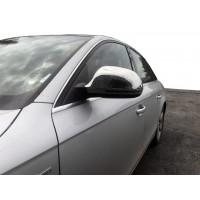 Накладки на зеркала (2 шт., нерж.) для Audi A4 B8 2007-2015