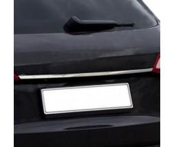 Audi A4 B9 2015+ гг. Планка над номером (sedan, нерж.)