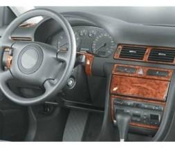 Audi A6 C5 1997-2001 гг. Накладки на торпедо Алюминий