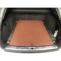 Коврик багажника (EVA, полиуретановый, кирпичный) для Audi A6 C6 2004-2011