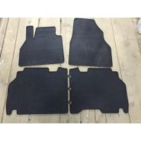 Резиновые коврики (Budget, резина) для Audi A6 C6 2004-2011