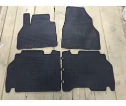 Audi A6 C6 2004-2011 гг. Резиновые коврики (Budget, резина)