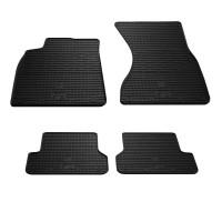 Резиновые коврики (4 шт, Stingray Premium) для Audi A6 C7 2011-2017