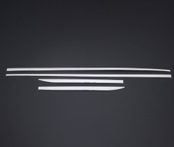 Audi Q5 2008-2017 Молдинг дверной (4 шт, нерж.)