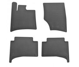 Audi Q7 2015↗ гг. Резиновые коврики (4 шт, Stingray Premium)