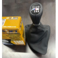 Чехол КПП -2021 ручка OEM (кожзам) для BMW 1 серия E81/82/87/88 2004-2011