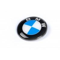 Эмблема БМВ, Турция d74 мм, штыри для BMW 1 серия E81/82/87/88 2004-2011
